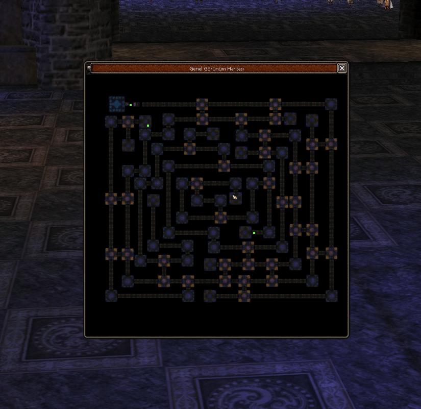 Sürgün Mağarası Haritası