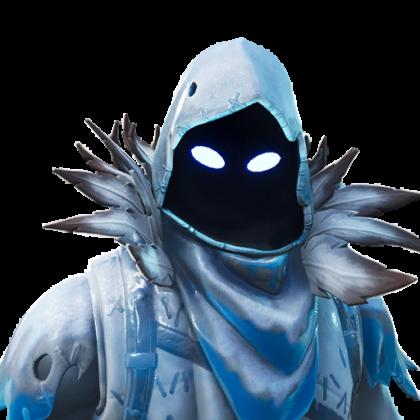 Fortnite Frozen Raven Skin