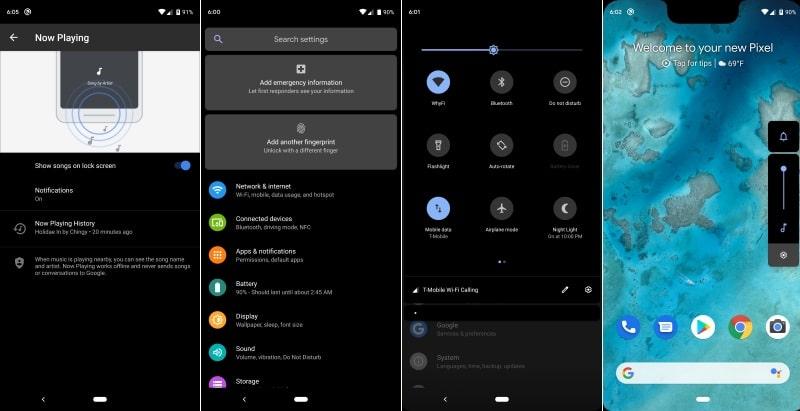 android q ekran görüntüleri