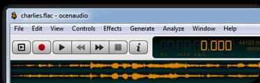 Ocenaudio- En İyi Çapraz Platform Ses Editörü