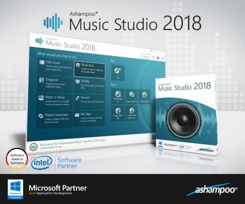 Ashampoo Müzik Stüdyosu 2018