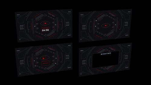 terminal scene layouts