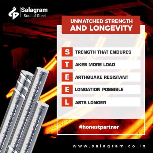 Are you looking for TMT bar Dealers, Suppliers in Siliguri in West Bengal and We are TMT Bar Manufacturers In Siliguri. We believe in earning the consumer's trust and building long term relationships. The recommended prices mentioned on our website are what you need to pay. For more information related to TMT Bars kindly visit our website: https://salagram.co.in/tmt-bars