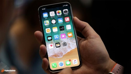 iPhone X Yeniden Baslatma