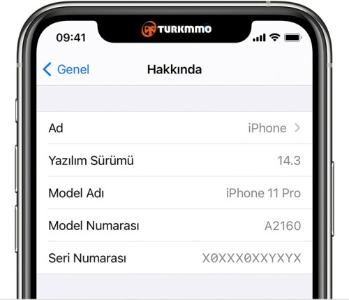 ios14 iphone11 pro settings general about software version cropped